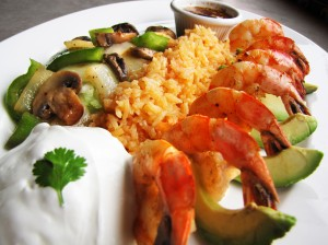 Cook Shrimp, Mexicali Fresh Mex Grill, Holden and Spencer, MA